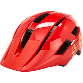Bell Sidetrack II Helm Jongeren, red bolts